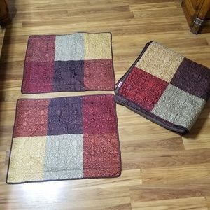 Other - Queen size quilt and two shams